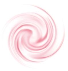 Milk yogurt cream curl vector