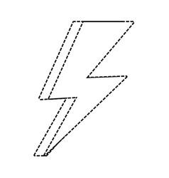 thunder weather ilustrati vector image