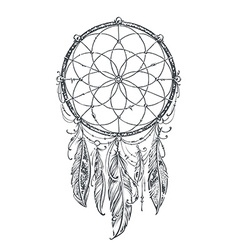 Dream Catcher vector image vector image