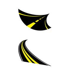 aspalt vector image