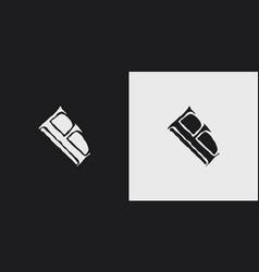 Fb logo monogram vector