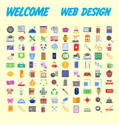 Icon pack for designers and developers icons for vector