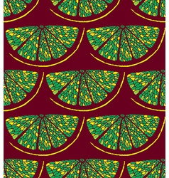Lemon pattern2 vector image