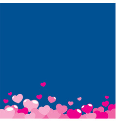 love love background vector image