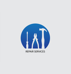 repair services icon vector image