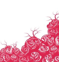 Rose scene vector