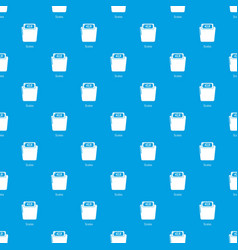 Scales pattern seamless blue vector
