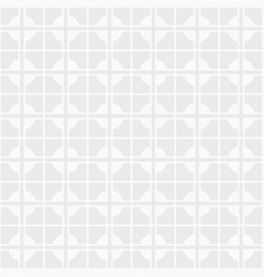 seamless abstract modern cross pattern vector image