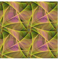 Seamless abstract veil fractal design vector