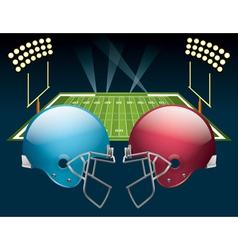 American football game vector