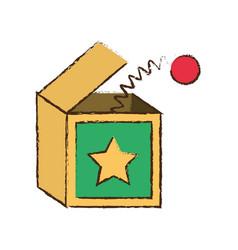 surprise box april fools image vector image vector image