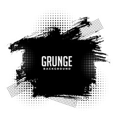 Abstract grunge halftone splatter texture vector