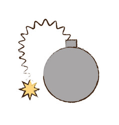 Bomb april fools image vector