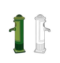 Fountain 1900 vector