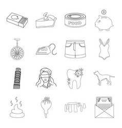 History travel fashion and other web icon in vector