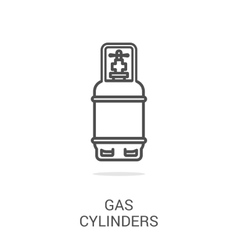 Icon gas equipment vector