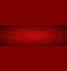 Modern red abstract octagonal banner vector
