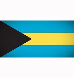 national flag bahamas vector image