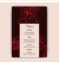 save date invitation wedding vector image