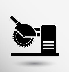 Saw tool icon button logo symbol concept vector