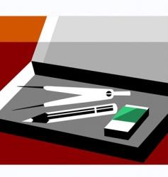 school box vector image