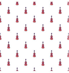 Violine pattern seamless vector