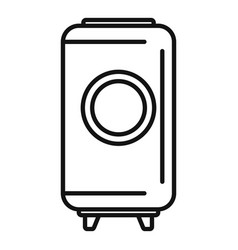 Winemaker barrel icon outline style vector