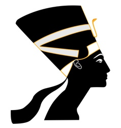 1Nefertiti vector image