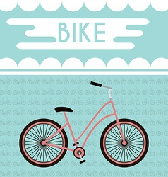 Bicycle Promotional Banner vector image