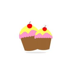 cake bakery logo vector image