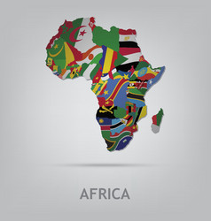 Continet africa vector