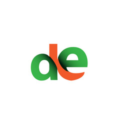 De logo template design vector