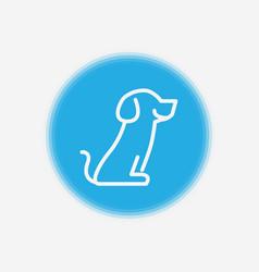 dog icon sign symbol vector image