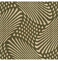 geometric ornament print vector image
