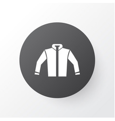 jacket icon symbol premium quality isolated vector image vector image