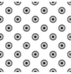 lock from safe pattern seamless vector image