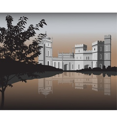 Palace vector image