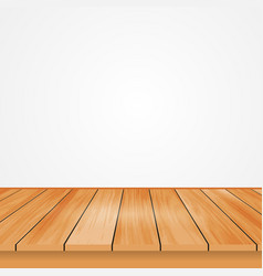 wood top view from the reflection of light off vector image