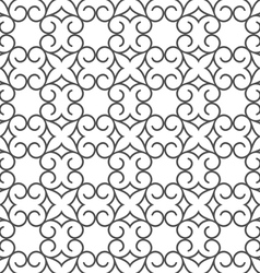 Delicate abstract seamless stylized flower pattern vector image vector image
