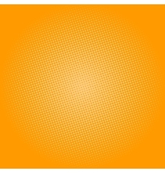 Dots on Yellow Background Pop Art Background vector image vector image
