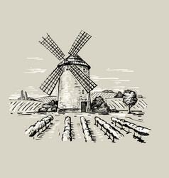 A mill vector