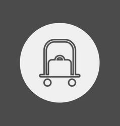 doorman icon sign symbol vector image