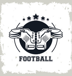 football chest protector vector image