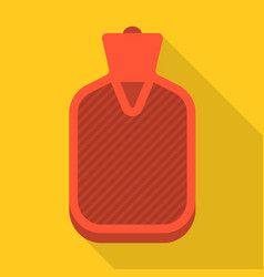 Hot water bag vector