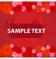 Romantic Banner vector image
