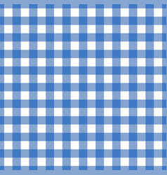 seamless blue tablecloth texture vector image