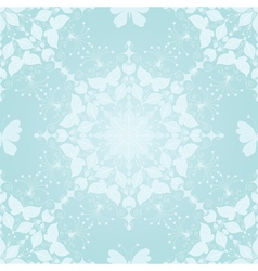 Seamless gentle christmas pattern vector