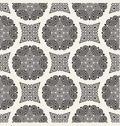 seamless pattern modern stylish abstract vector image