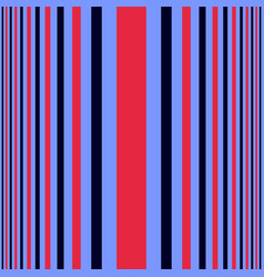 vertical blue and red shades stripes print vector image
