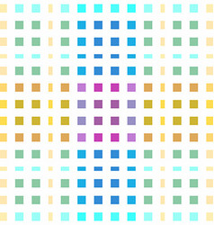 Seamless colored pattern made of little squares vector image vector image